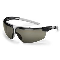 Uvex i-3 Safety Sunglasses, grey lens, black-light grey