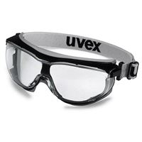 Uvex Carbonvision Compact Safety Goggle, clear lens