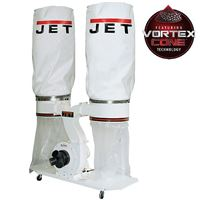 JET DC-1900A Dust Collector, Double-bag