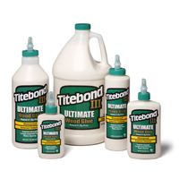 Titebond III Ultimate Wood Glue D4 - 237 ml, Plastic Bottle