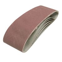 Sanding Belts 75 x 533 mm 5pcs - 120 grit