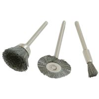 Steel Brush Set 3pcs, S=3,2 mm
