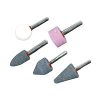 Mounted Stone Set 5pcs, S=6 mm