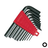 Hex Key Set 10pcs, 2-10