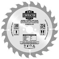 CMT Contractor Saw Blade for Wood - D250x2,6 d30 Z40 HW