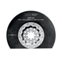 CMT Starlock Radial Saw Blade HSS for Metal & Wood - 85 mm
