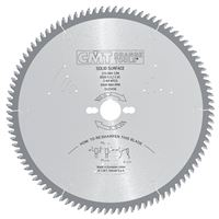 CMT Solid Surface and Corian Saw Blade - D160x2,2 d20 Z48 HW