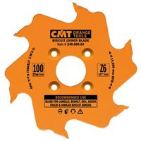 CMT Biscuit Joiner Blade - D100x3,96 d22 Z6 HW Alternate