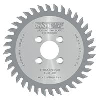 CMT Grooving Saw Blade for CNC - D150x3 d30 Z36 HW