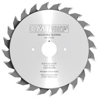 CMT Adjustable Scoring Blade - D70x2,8-3,6 d20 Z8+8 HW