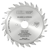 CMT CHROME Adjustable Scoring Blade - D100x2,8-3,6 d20 Z10+10 HW