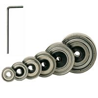 Set of 6 Bearings with a key