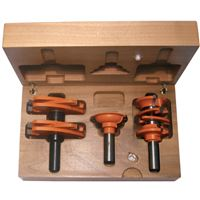 Door Bit Set, 3pcs, S=12 HW