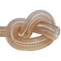 Transparent Extraction Hose for 100 mm outlet - 2,5 m lenght