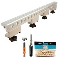 IGM FKP656 Boring Jig Set 656 mm, Euro 32 mm + FREE 100pcs Dowels