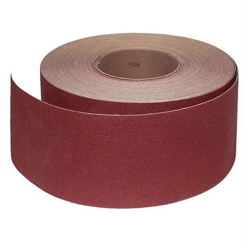 Abrasive Roll Cloth, backed 85 mm x 25 m antistatic - 180G