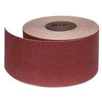 Abrasive Roll Cloth, backed 100 mm x 25 m standard - 60G