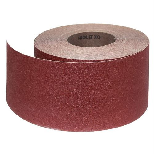 Abrasive Roll Cloth, backed 100 mm x 25 m standard - 120G