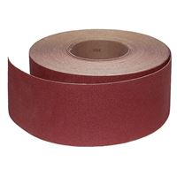 Abrasive Roll Cloth, backed 76 mm x 25 m standard - 120G