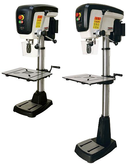 Professional JET Floor and Bench Pillar Drills These powerful robust