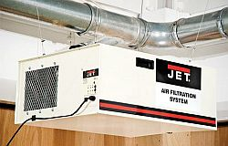Air filtration in your workshop | IGM Tools & Machinery