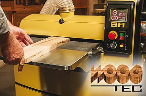 We will introduce the Gold Standard of Woodworking Machinery at the WOOD-TEC 2017