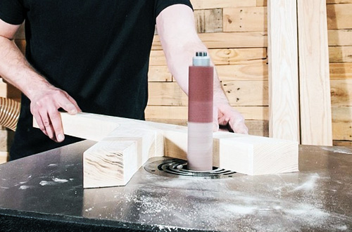 10.11.2020 - Sanding, edgebanding and suitable accessor...