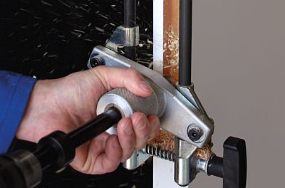 Quick and easy mortise drilling is possible now