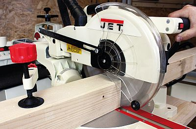 An Extensive Test of the JET Mitre Saw